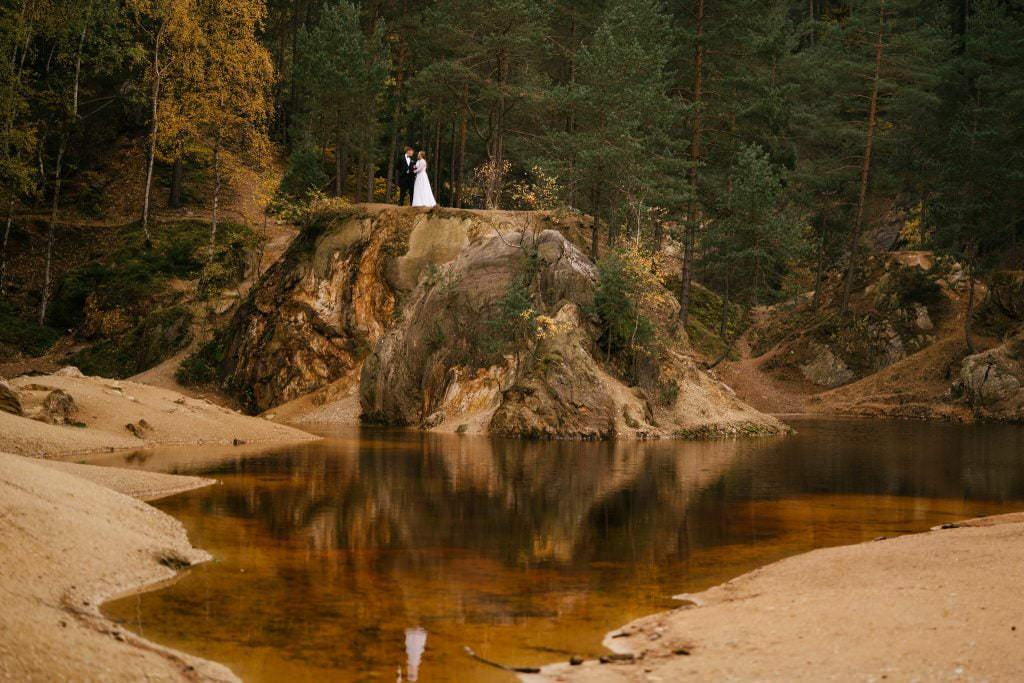 kolorowe jeziorka Rudawy Janowskie 9