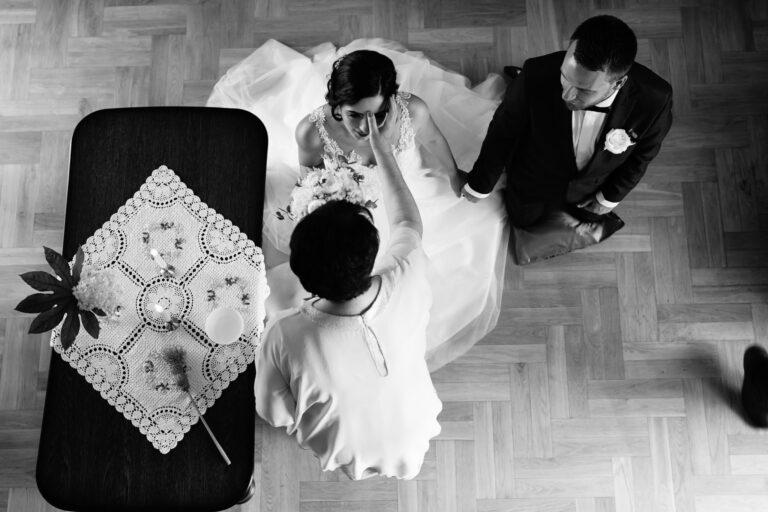 błogosławieństwo w dniu ślubu